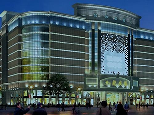 九龙广场大型商场保洁